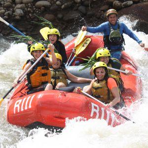 רפטינג בנהר הבלסה קוסטה ריקה
